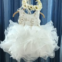 Girls Dresses Baby Girl Dress Princess Kids Clothes Child Wear Summer Wedding Tutu Skirt Flower Birthday Party Pettiskirt B7260