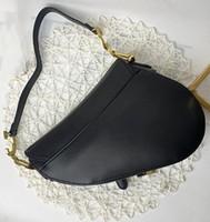Lüks Tasarımcılar Çanta Tasarımcı Çanta Bayan Hakiki Deri Çanta Mektuplar Eyer Çanta Yüksek Kalite Hakiki Deri Omuz Çanta