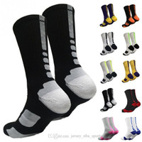 21 USA Professional Elite Basketball Socks Long Knee Atlético Sport Socks Hombres Moda Compresión Invierno Calcetines de los hombres en stock 2pcs / lot