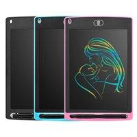 الرسومات اللوحي الالكترونيات الرسم الذكية LCD الكتابة المجالس القابلة للمسح 8.5 12 بوصة لوحة ضوء القلم خط اليد