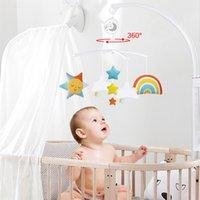 Детская кроватка для детской кроватки белые погремушки Arm кронштейн набор для кроватки 360 градусов вращающиеся кроватки кровать колокольчик игрушка ведущая детская ротационная мобильная музыка