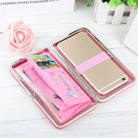 Wallets 2021 Women Wallet Female Long Leather Purse Hasp Purses With Strap Phone Card Holders Big Capacity Ladies Clutch