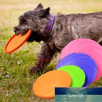 Dog Flying Discs 1 Pc Interactive Dog Chew Toys Resistance Bite Soft Rubber Puppy Pet Toy for Dogs Pet Training Products