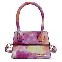 HBP designer shoulder bags small tote bag crossbody pu leather high quality colorful purse handbag fashion women girl shopping cute Tie Dye PS092401 7 color choose