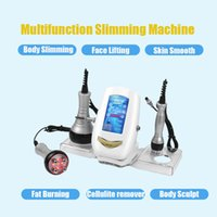 No need to Keep Diet Slimming Machine 40KHz Cavitation Multipolar RF Radio frequency Body Sculpting Cellulite Remover Device
