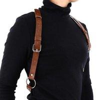 Belts Harajuku Women Punk Bondage Adjustable Faux Leather Sexy Harness Men Straps Bra Garter Body Belt
