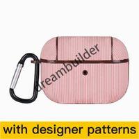 Diseñador Aripods Pro Cases Inalámbrico Bluetooth Auriculares Manga protectora Moda Creative Airpods 2 Caso Color Color Láser Drop Shippin