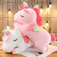 35cm Kawaii Riesige Einhorn Plüschtier Weiche Gefüllte Einhorn Weiche Puppen Tierpferd Für Kinder Mädchen Kissen Geburtstagsgeschenke