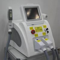 Sıcak Satış Profesyonel 2in1 Güzellik Ekipmanları IPL SHR Lazer ND YAG Kalıcı Saç Sökücü Q Anahtarı Lazer Dövme Temizleme Makinesi Ücretsiz Kargo