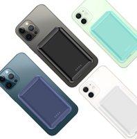 iPhone 12 Pro Max 12 5000mAh 외부 배터리 자석 PowerBank 용 마그네틱 무선 전원 은행 휴대용 Magsafe 충전기