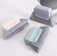 Window Groove Cleaning Cloth Windows Clean Brush Scouring Clothes Slot CleanerBrushClean SlotCleaner DD089