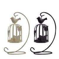 Tenedor de velas decoración vintage candelabra jaulas de pájaros candelabros decorativos para decoración del hogar