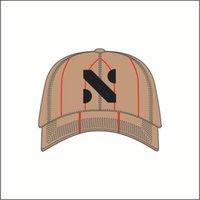 Casquettes de baseball à carreaux de haute qualité Coton Classic Lettre Stripe Caps Casquettes Été Visière d'été Réglable Snap Hommes et Femme Ball Cap 4 Couleur