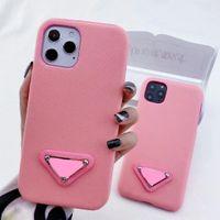 Cas de téléphone de la mode pour iPhone 12 Pro Max 11 XR XS XSMAX 7/8 plus en cuir PU Samsung S10 S10PLUS S20P S20U Note8 9 10 10P Couverture arrière
