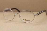 Vente en gros de lunettes Noir Horn Cadres Designer Buffalo Optiques MM Logo 7550178 Avec Hommes Verres Box Taille: 55-22-140 Marque JJTLU