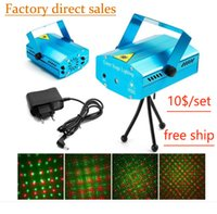 Mini LED Laser Projector Christmas Decorations Laser Disco L...