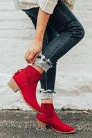 Monerffi Hollow Out Tassel Bottes Chaussures Femme Zapatos de Mujer Zipper Casual Bottines Casual Bottines Fête Fête Femmes Automne Chaussure T8FD #