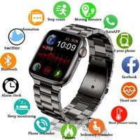 2021 Smart Watch Men Women Bluetooth Call 1.75 Inch Custom Dynamic Face IP68 Waterproof Smartwatch for Apple Iwo W26