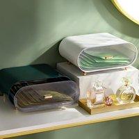 Storage Boxes & Bins 2021 Plastic Drawer Box Cosmetic Masks Container Luxury Makeup Jewelry Case Dustproof Desktop Sundries Organizer
