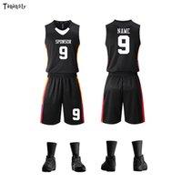 Nouveau Basket-ball Jerseys Jerseys Adultes Équipe Uniforme Costudes imprimées Personnaliser Nom Logo Sports Chemise sans manches pour Femmes Short Set