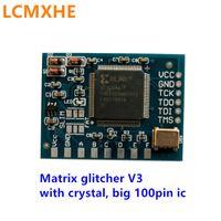 Xbox 360のための48MHzの水晶発振器が付いているビッグ100ピンIC版コロナチップのマトリックスグリッチャーV3高品質送料無料