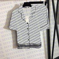 Camisetas de manga corta Conjunto de ropa de dormir para mujer Diseñadores Impresos Damas Casuales Shorts Sets Pijamas para mujer