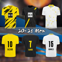 20 21 حلاند ريوس لكرة القدم الفانيلة 2020 دورتموند لكرة القدم قميص مجموعة بيلينجهام سانشو ريوس هسلال برانط دي القدم الرجال الاطفال عدة موحدة