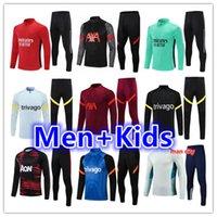 Kids + Men Whult 212 22 Футбольный тренажерный костюм футбол Touchsuits Костюм наборы 2021 2022 Выжитие ноги Chandal Futbol Tuta Куртка для бега