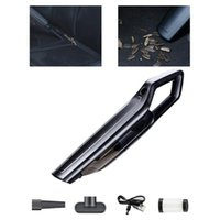 Vacuum Cleaner Mini Handheld High-power Suction Dust Sweeper With Nozzles Cable Hose For Auto Home Interior Cleaning