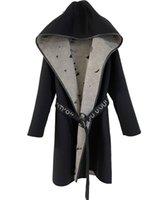 Передвижные пальто для женщин для женщин-пояса Карманные отворотки Пальто моды Роскошь Дизайнерская Одежда Женщина Стили Длинные Негабаритные Классический Известный Бренд Высокое Качество Зима Новый 2021