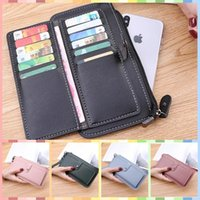 Wallets Recommend Bags Purses For Women Money Clip Coin Card Concise Long Wallet Phone Pack Zipper Hasp Student Handbags