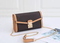 Mulheres Mulheres Hot Designer Bolsa Messenger Messenger Oxidante Couro Pochette Metis Elegante Ombro Bolsas Crossbody Bags Shoppi