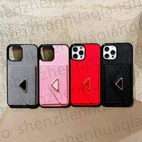 Luxurys مصممين بطاقة جيب الحالات الهاتف فون 13 برو ماكس 12 11 xs XR X 8 7 S21ULTRA S21 الأزياء طباعة تصميم اسم المعادن الكلاسيكية الغطاء الخلفي حالة فاخرة المحمول قذيفة