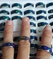 스테인레스 스틸 분위기 반지 만화 동물 나비 평화 심장 - 모양의 돌고래 달과 별