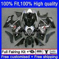 Spritzgussverkleidungen für Suzuki GSXR 1000 CC 1000cc 2007-2008 Bodys 27No.14 GSX-R1000 GSXR1000 K7 07 08 GSXR-1000 GSXR1000CC 2007 2008 OEM-Karosseriefabrik schwarz