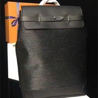 Черный цветок цвет новый рюкзаки мужской рюкзак пароход настоящая кожа высокого качества дизайнер качества m43296 hobo сумки 45 * 32 * 16см