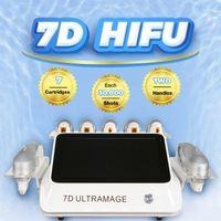 آلة الموجات فوق الصوتية بروتابلي للتجاعيد الجسم تشكيل وفقدان الوزن 7D HIFU رفع الوجه الفاتية إزالة السيلوليت CE FDA المعتمدة 2 سنة الضمان