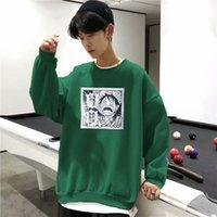 Узнайте корейскую версию мультфильм пират Ван осень зима мужской свитер пуловер с водой круглый шеи свитер мужская форма