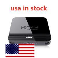 Nave da USA 2 GB RAM 16GB H96 Mini H8 1080P HD 4K Smart TV Box RK3228A Quad Core Android 9.0 H96mini Box