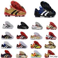 الرجال المفترس 20 + mutator هوس معذر التسارع الكهرباء الدقة fg beckham db zidane zz soccer shoes المرابط أحذية كرة القدم