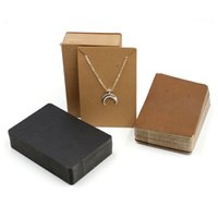 100pcs lot Earrings and Necklaces Display Cards Cardboard Earring Packaging Hang Tag Card Ear Studs Paper Card for Jewelry 6x9cm