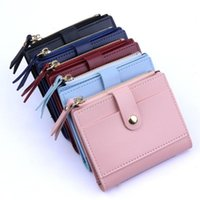 Wallets Fashion Women Wallet Lovely Candy Color Small Coin Zipper Purse Card Package#p30
