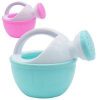 1 unids Baby Bath Toy Colorido Plástico Riego Can Rieing Pot Beach Juguete Juega Arena Para Niños Niños Regalo