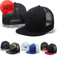 2017 new export summer hip hop blank light plate hat hiphop NET women's flat edge baseball men's