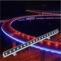 Outdoor-LED-Wandwaschanlage Licht IP65-Flutlicht-Foco-LED-Außenansicht 6W 9W 12W 15W 18W 24W 30W 36W 48W 72W 108W Projekteur Exterieur