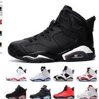 2021 Jumpman Basketball Shoes Mens 6S Anéis Criado Sapato Táxi Espaço Ginásio UNC Ginásio Vermelho 7s Bordeaux Hare Olympic Sports Trainers Sneakers US13
