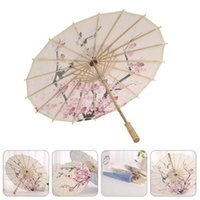 Зонтики 1 шт. Китайский стиль масло бумаги зонтик этап PO7