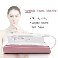 2021 ultrassonic hifu rejuvenescimento de pele RF Levantamento de terapia de beleza Alta intensidade focada ultra-som a pele cuidados faciais levantamento