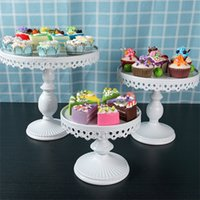 Crystal Stand Dessert Dessert Tray Specchio Surface Cake Stand Pantaloni da sposa Festa Birthday Pan Cookies Biscotti Display Piastra 8/10/12 pollici 701 K2