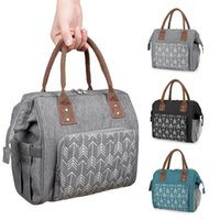 Diaper Bags Portable Lunch Bag For Mommy Thermal Insulated Box Tote Cooler Handbag Baby Maternity Waterproof Travel
